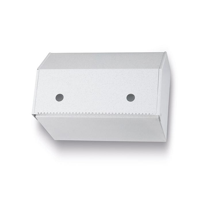 מתקן למגבות נייר בגלילים על הקיר 1