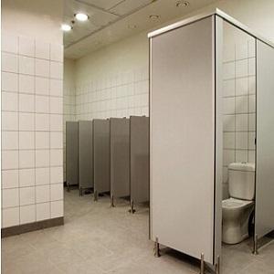 מחיצות הפרדה לשירותים